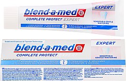 Parfumuri și produse cosmetice Pastă de dinți - Blend-A-Med Complete Protect Expert Sensitive & Gentle Whitening Toothpaste