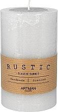 Parfumuri și produse cosmetice Lumânare aromată, 7x11,5 cm, gri - Artman Rustic