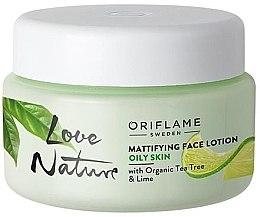 Parfumuri și produse cosmetice Balsam matifiant pentru față - Oriflame Love Nature Mattifyng Face Lotion