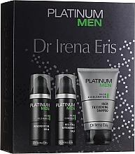 Parfumuri și produse cosmetice Set - Dr. Irena Eris Platinum Men (shm/125ml + ash/balm/50ml + cr/50ml)