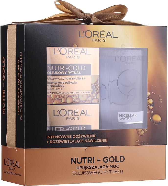Set - Loreal Nutri Gold