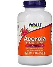 "Parfumuri și produse cosmetice Supliment alimentar ""Acerola și vitamina C"" - Now Foods Acerola 4:1 Extract Powder"