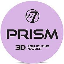 Parfumuri și produse cosmetice Iluminator pentru față - W7 Prism 3D Highlighting Powder