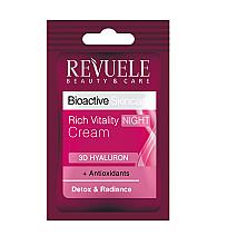 Parfumuri și produse cosmetice Cremă de noapte pentru față - Revuele Bioactive Skincare 3D Hyaluron Rich Vitality Night Cream (tester)