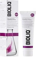 Parfumuri și produse cosmetice Crema de zi cu efect de netezire pentru îmbunătățirea elasticității - Bioliq 45+ Firming And Smoothing Day Cream