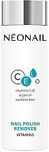 Parfumuri și produse cosmetice Soluție cu vitamine pentru îndepărtarea ojei - NeoNail Professional Nail Polish Remover