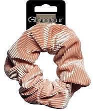 Parfumuri și produse cosmetice Elastic de păr, 417672, maro - Glamour