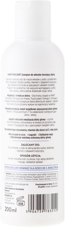 Șampon protector - Dermedic Emolient Linum Shampoo — Imagine N2