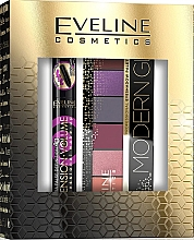Parfumuri și produse cosmetice Eveline Cosmetics (masc/10ml + eye/pal/9.6g) - Set