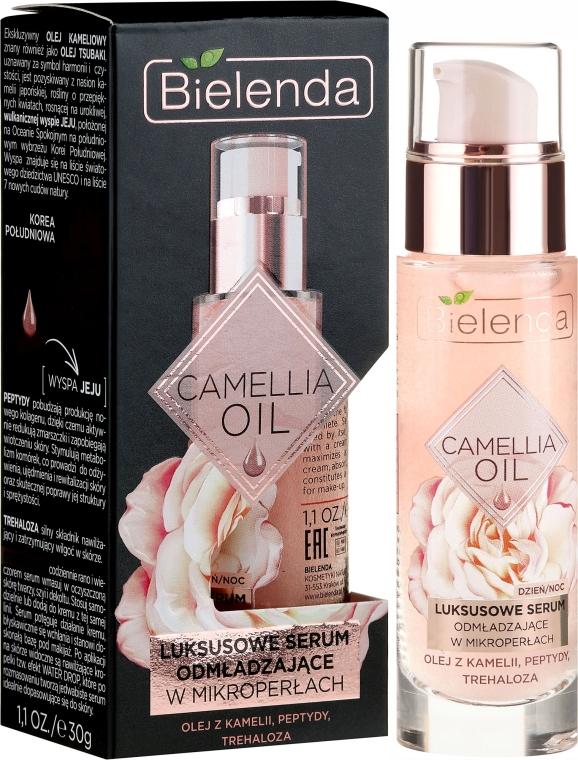 Ser facial - Bielenda Camellia Oil Luxurious Rejuvenating Serum