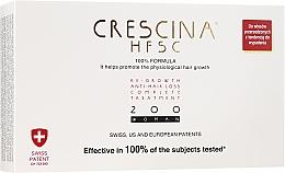 Духи, Парфюмерия, косметика Tratament împotriva căderii părului, pentru femei, 200 - Crescina Re-Growth HFSC Formula 100%