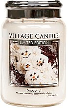 Parfumuri și produse cosmetice Lumânare aromatică - Village Candle Snoconut Glass Jar