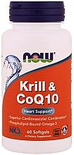Parfumuri și produse cosmetice Ulei de krill și coenzima Q10 - Now Foods Krill & CoQ10