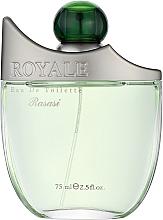 Parfumuri și produse cosmetice Rasasi Royale Pour Homme - Apă de toaletă