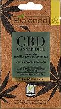 Parfumuri și produse cosmetice Mască pentru pielea grasă și mixtă - Bielenda CBD Cannabidiol Moisturizing & Detoxifying Mask