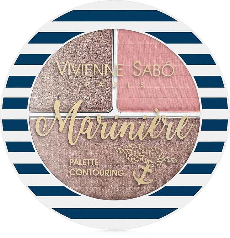 Paletă pentru sculptarea feței - Vivienne Sabo Mariniere Palette Contouring