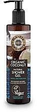 Parfumuri și produse cosmetice Gel hidratant de duș - Planeta Organica Organic Coconut Natural Shower Gel