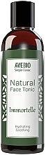 Parfumuri și produse cosmetice Tonic natural pentru față - Avebio Natural Face Tonic Immortelle