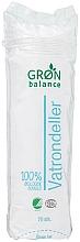 Parfumuri și produse cosmetice Discuri din bumbac - Gron Balance