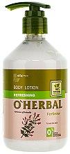 Parfumuri și produse cosmetice Loțiune revigorantă pentru corp cu extract de verbenă - O'Herbal Refreshing Lotion