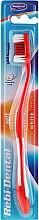 Parfumuri și produse cosmetice Periuță de dinți Rebi-Dental M43, moale, roșie - Mattes