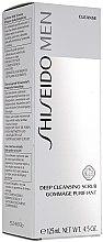 Parfumuri și produse cosmetice Scrub pentru curățarea profundă a pielii - Shiseido Men Deep Cleansing Scrub