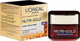 Parfumuri și produse cosmetice Cremă de noapte pentru față - L'Oreal Paris Dermo-Expertise Hidratare de lux