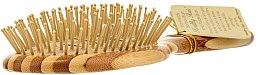 Perie din bambus pentru păr - Olivia Garden Healthy Hair Oval Vent Epoxy Eco-Friendly Bamboo Brush — Imagine N2