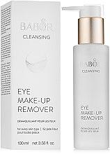 Parfumuri și produse cosmetice Demachiant pentru pleoape - Babor Cleansing Eye Make up Remover