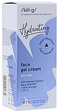 Parfumuri și produse cosmetice Gel-cremă intensiv hidratantă pentru ten uscat - Kili-g Hydrating Face Gel Cream