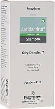 Parfumuri și produse cosmetice Șampon anti-mătreață pentru păr gras - Frezyderm Antidandruff Shampoo