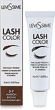 Parfumuri și produse cosmetice Vopsea pentru sprâncene și gene - LeviSsime Lash Color