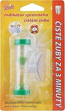 Parfumuri și produse cosmetice Timer pentru curățarea dinților, verde - VitalCare White Pearl Smile Indicator Proper Toothbrushing