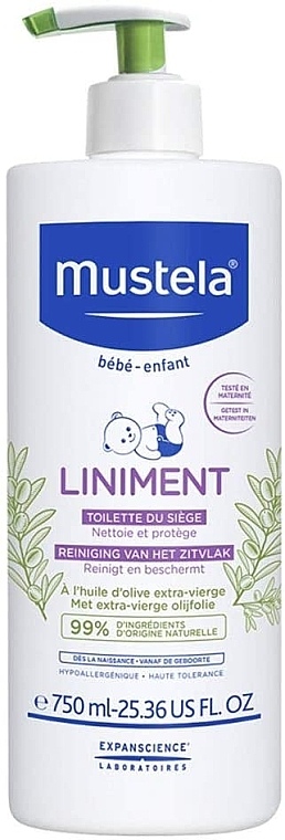Lapte de corp - Mustela Bebe Liniment