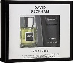 Parfumuri și produse cosmetice David Beckham Instinct - Set (edt/30ml+sh/gel/150ml)