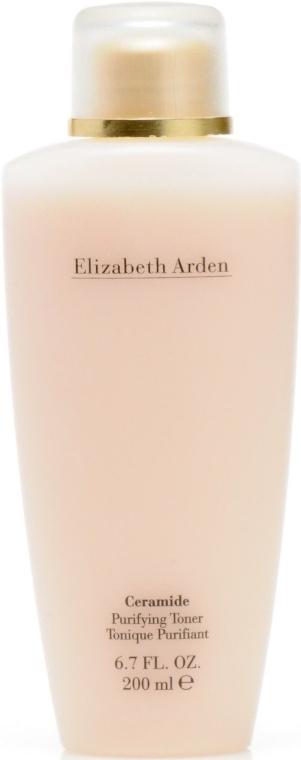 Tonic pentru față 40+ - Elizabeth Arden Ceramide Purifying Toner — Imagine N1