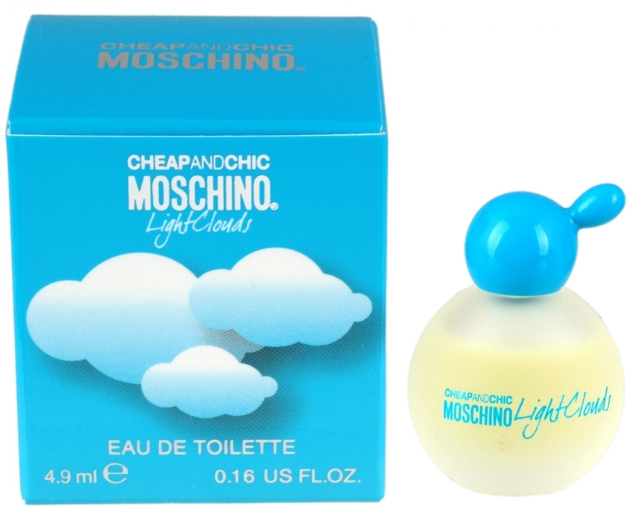 Moschino Cheap and Chic Light Clouds - Apă de toaletă (mini)