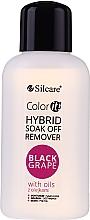 Parfumuri și produse cosmetice Soluție pentru înlăturarea gel-lacului - Silcare Soak Off Remover Black Grape