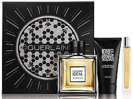 Parfumuri și produse cosmetice Guerlain L?Homme Ideal - Set (edt/100ml + edt/10ml + sh/gel/75ml)