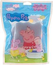"""Parfumuri și produse cosmetice Burete de baie """"Peppa Pig"""" pentru copii, Peppa balerină - Suavipiel Peppa Pig Bath Sponge"""
