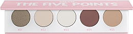 Parfumuri și produse cosmetice Paletă fard de ochi - Miyo Five Points Palette