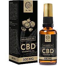 Parfumuri și produse cosmetice Ulei natural de Macadamia CBD 500mg - Dr. T&J Bio Oil
