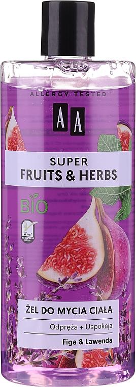 Набор - AA Super Fruits&Herbs Set (sh/gel/500ml + b/lot/500ml) — фото N2
