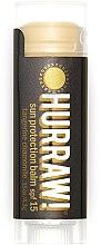 """Parfumuri și produse cosmetice Balsam de buze """"Protecție solară"""" - Hurraw! Sun Protection Lip Balm SPF15 Limited Edition"""