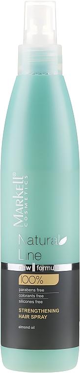 Spray pentru întărirea părului - Markell Cosmetics Natural Line Strengthening Hair Spray
