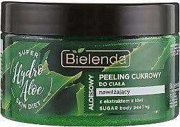 """Parfumuri și produse cosmetice Scrub de zahăr pentru corp """"Aloe"""" - Bielenda Super Skin Diet Hydro Aloe"""