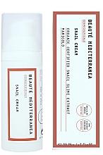 Parfumuri și produse cosmetice Cremă anti-îmbătrânire cu extract de melc pentru față - Beaute Mediterranea Snail Cream