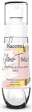 Parfumuri și produse cosmetice Tonic pentru față - Nacomi Glow Brightening & Exfoliating Tonic