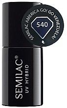 Parfumuri și produse cosmetice Lac de unghii - Semilac UV Hybrid America Go!