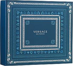 Parfumuri și produse cosmetice Versace Man Eau Fraiche - Set (edt/100ml + sh/gel/150ml + edt/10ml)